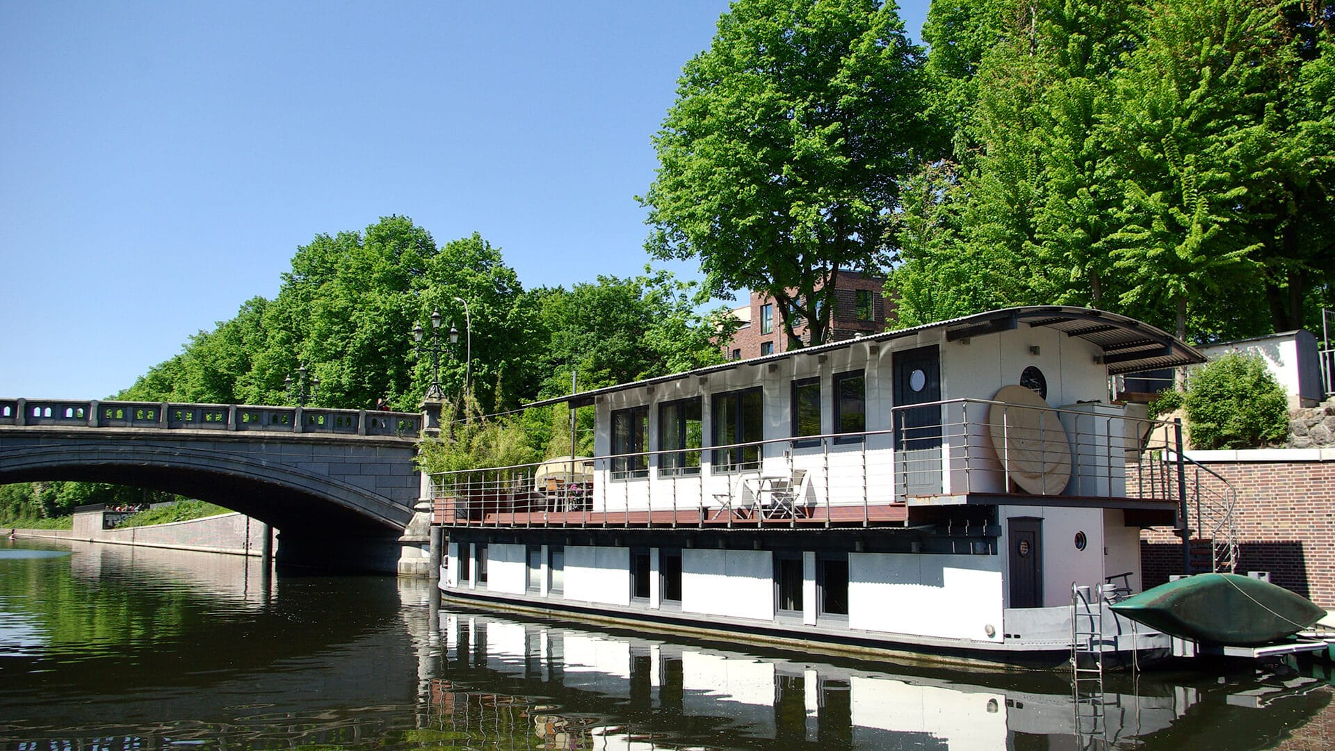 Peissnitz Hausboot Hamburg