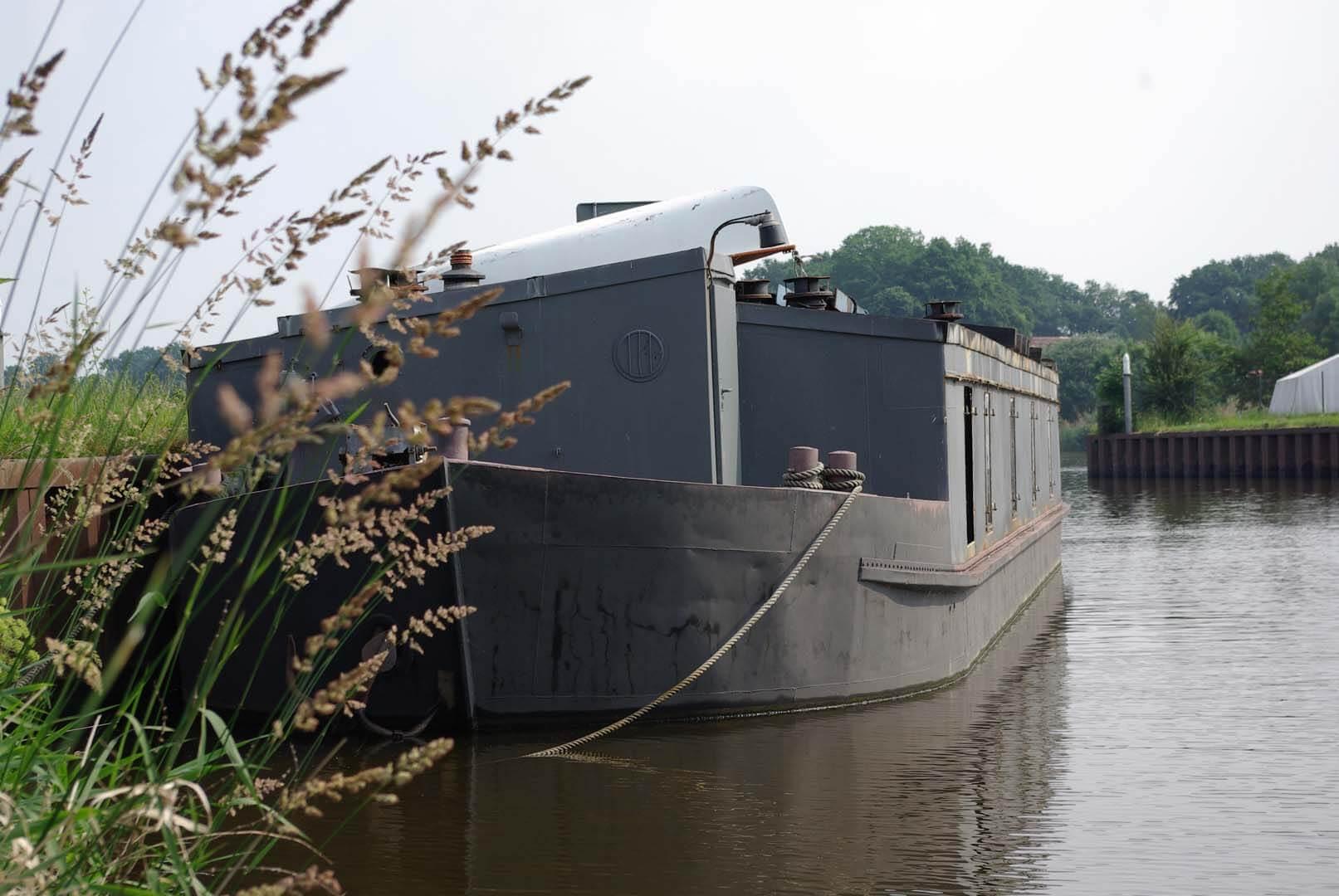 Peissnitz am Warteliegeplatz in Dörverden an der Weser