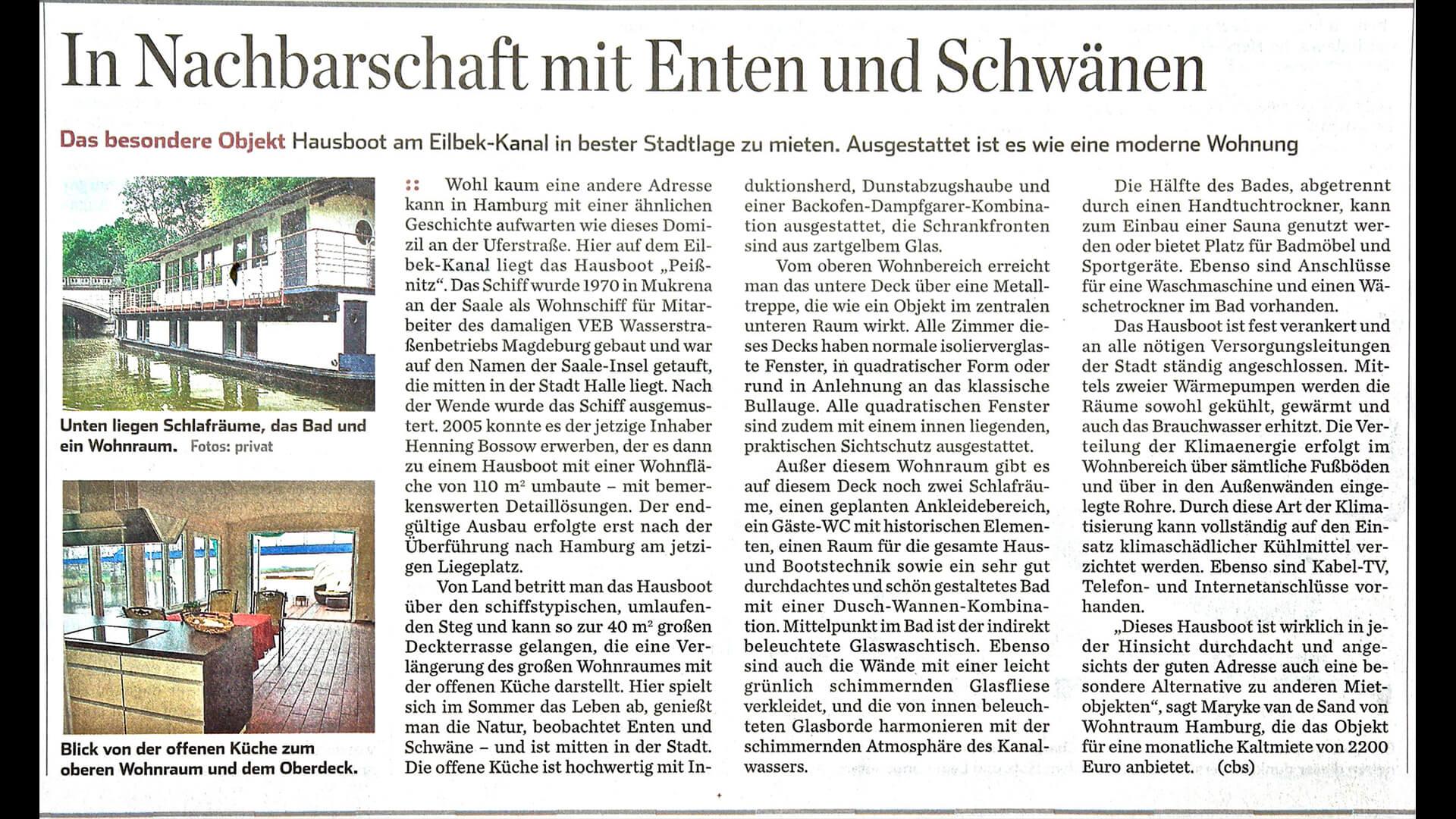 Peißnitz in den Medien